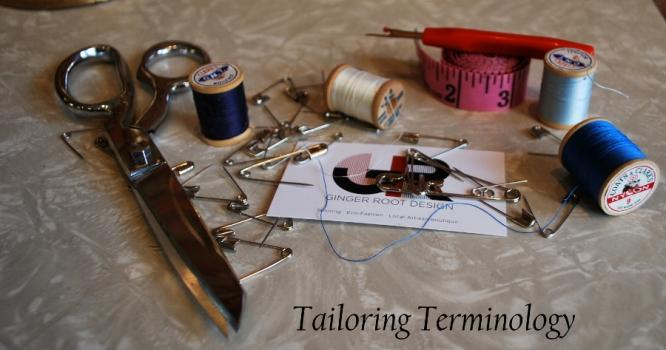 Tailoring Terminology: Rick Rack