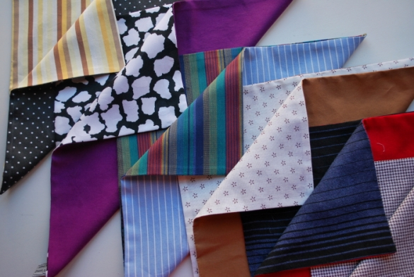 New! Reversible & Recycled Pocket Squares